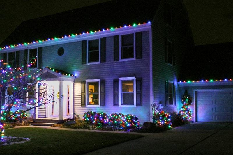We Hang Outside Xmas Lights In Ann Arbor